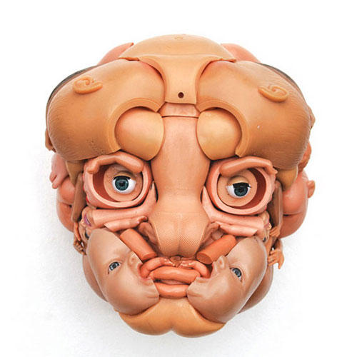 new plastic doll faces Freya Jobbins 7