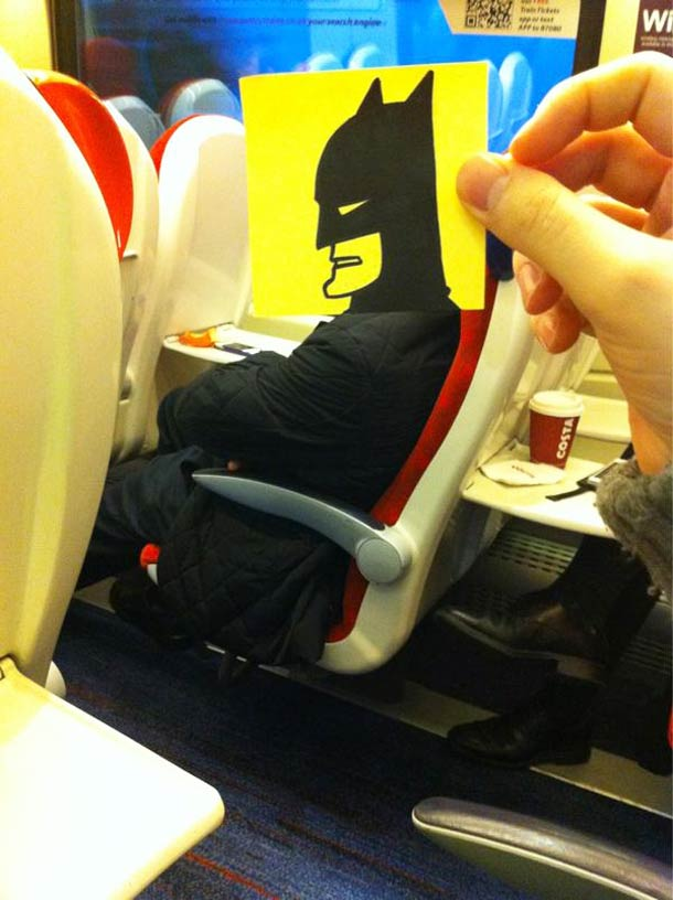 October Jones during a boring train journey 3