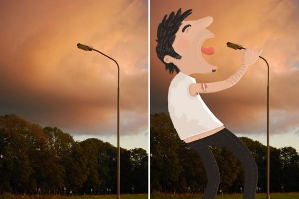 Stop Watch Urban illustrations Tineke Meirink 19
