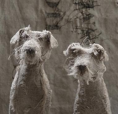 dog scuptures Helen Thompson 14