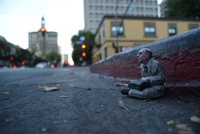 Fascinating Miniature World Isaac Cordal 10