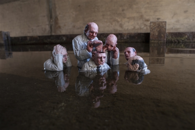 Fascinating Miniature World Isaac Cordal 5