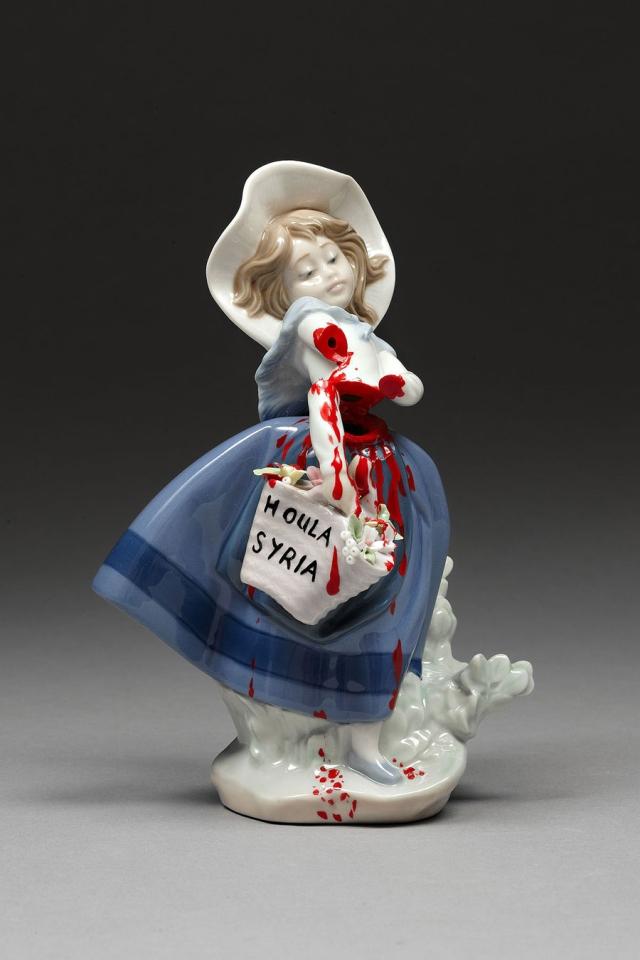 Political porcelain Penny Byrne 10