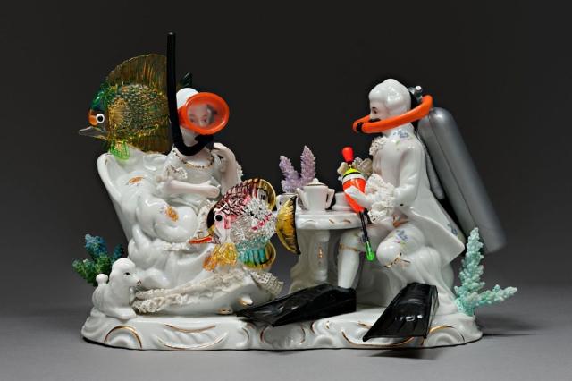 Political porcelain Penny Byrne 12