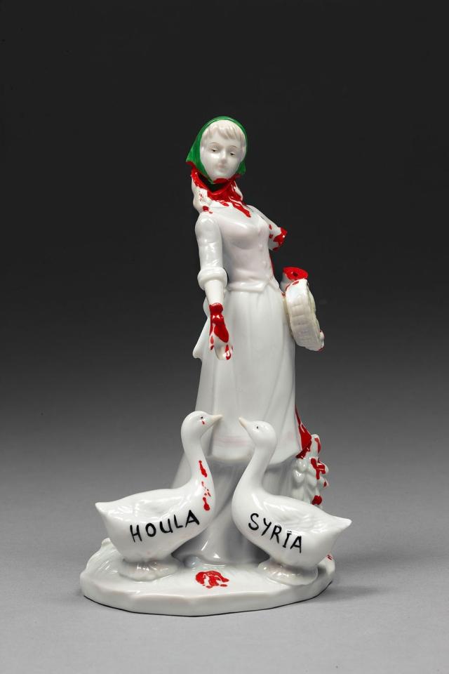 Political porcelain Penny Byrne 9