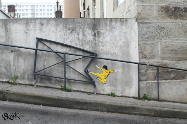Street Art Illusion OAKOAK 7