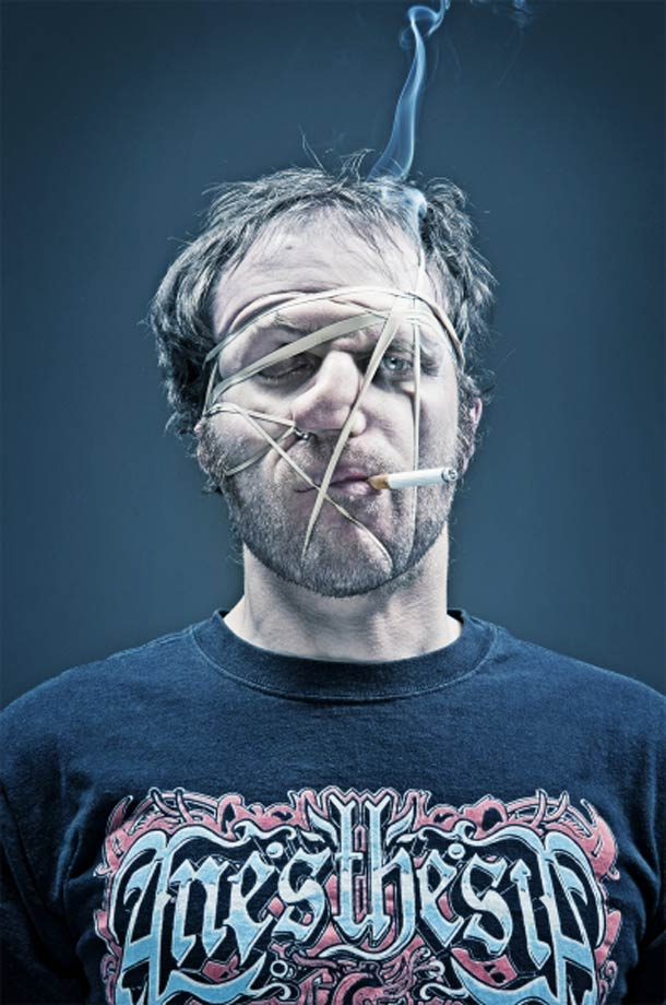 Wes Naman Rubber Band Portraits 2