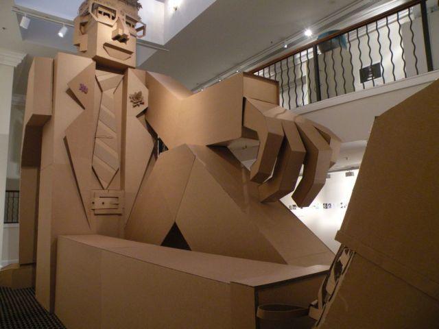 corrugated art James Grashow 14