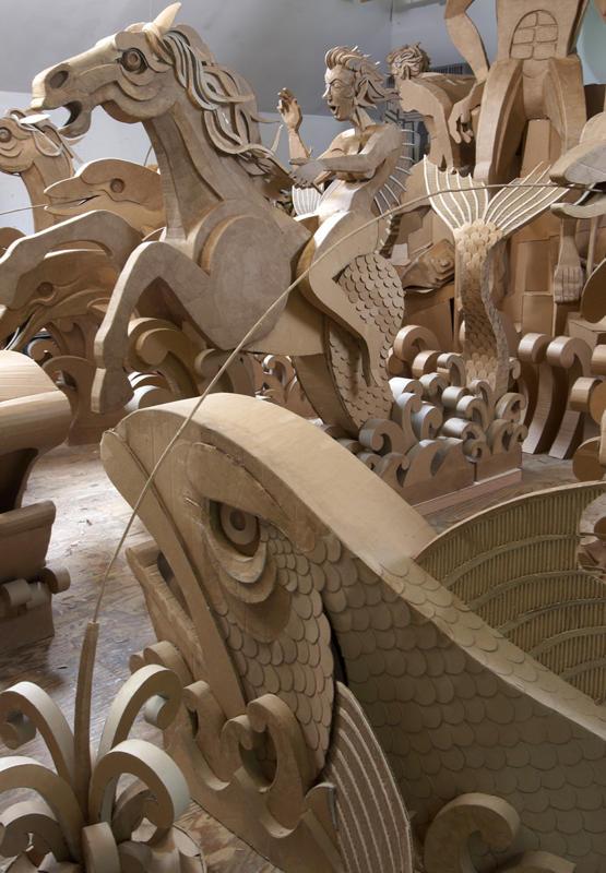 corrugated art James Grashow 2