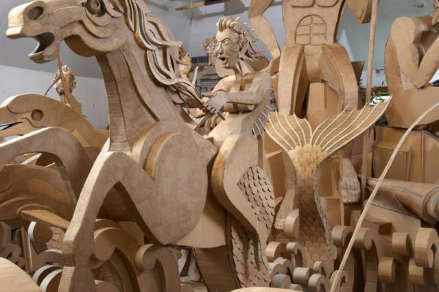 corrugated art James Grashow 3