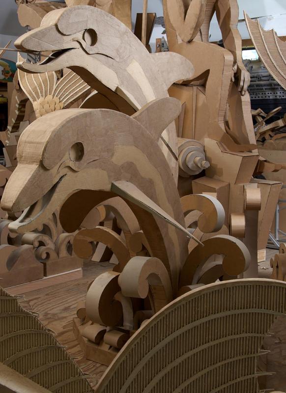 corrugated art James Grashow 4
