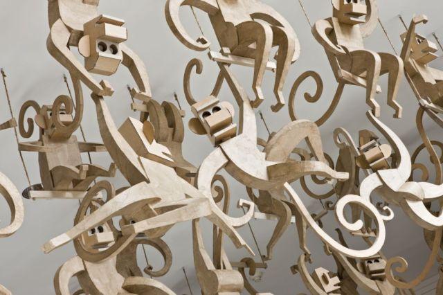 corrugated art James Grashow 5