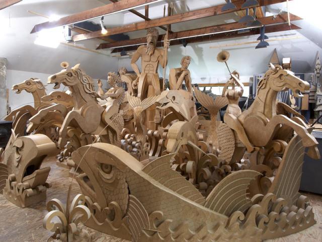 corrugated art James Grashow