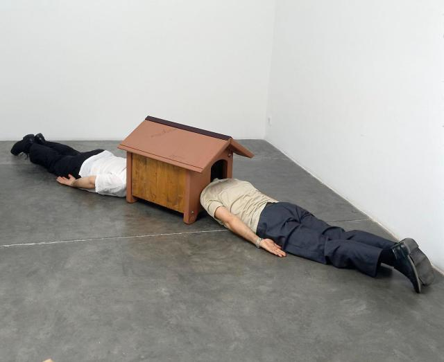 Erwin Wurm Surreal Sculptures 6
