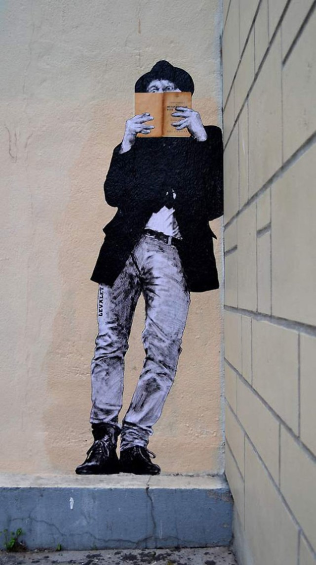 the urban theater Levalet 18
