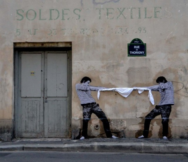 the urban theater Levalet 4