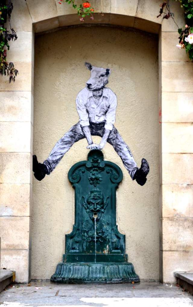 the urban theater Levalet 5