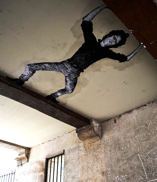 the urban theater Levalet