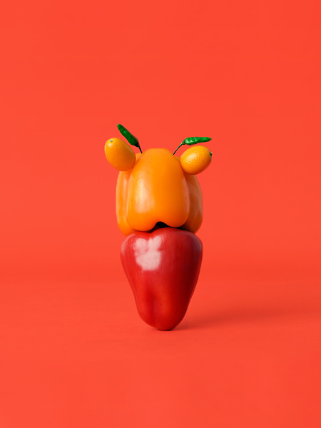 Carl Kleiner CRAZY VEGGIE FACES 10