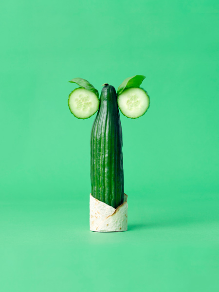 Carl Kleiner CRAZY VEGGIE FACES 12