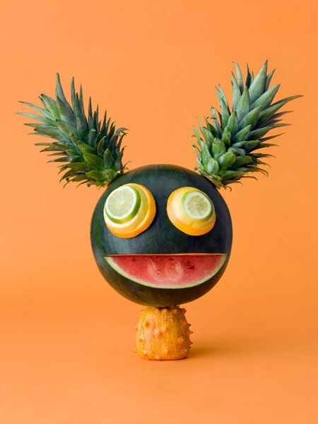 Carl Kleiner CRAZY VEGGIE FACES 2