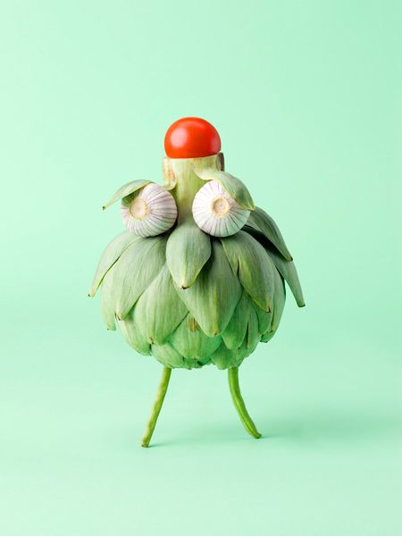 Carl Kleiner CRAZY VEGGIE FACES 7