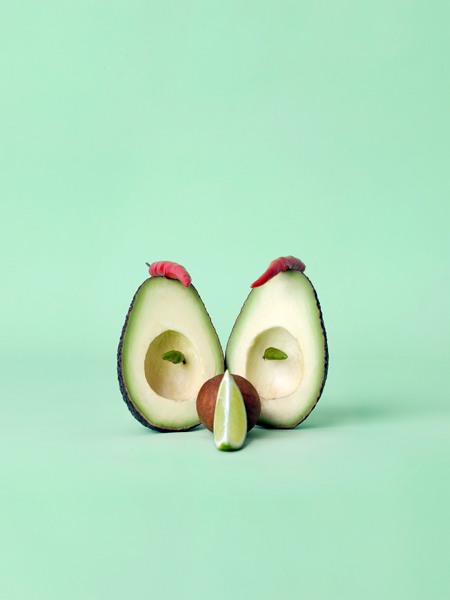 Carl Kleiner CRAZY VEGGIE FACES 8