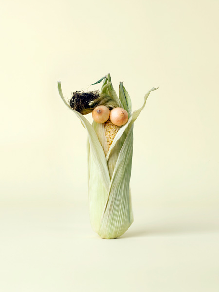 Carl Kleiner CRAZY VEGGIE FACES 9