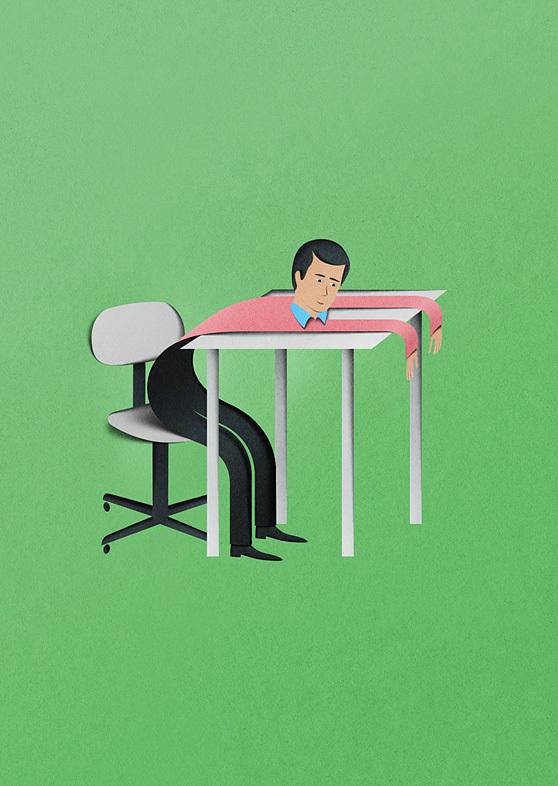 Eiko Ojala papercut illustrations 6
