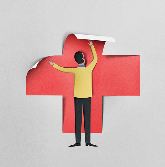 Eiko Ojala papercut illustrations