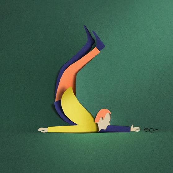 New Paper Cut Illustration Eiko Ojala 3