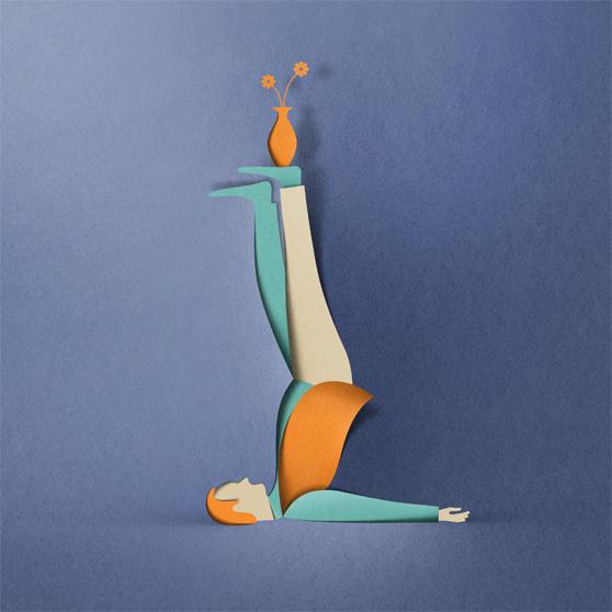 New Paper Cut Illustration Eiko Ojala 4