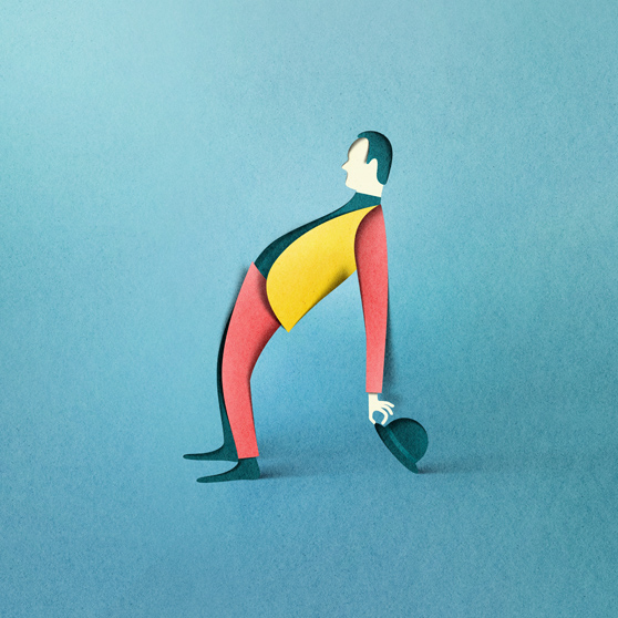 New Paper Cut Illustration Eiko Ojala