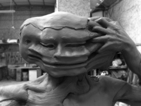 Enrico Ferrarini disturbed sculptures 2