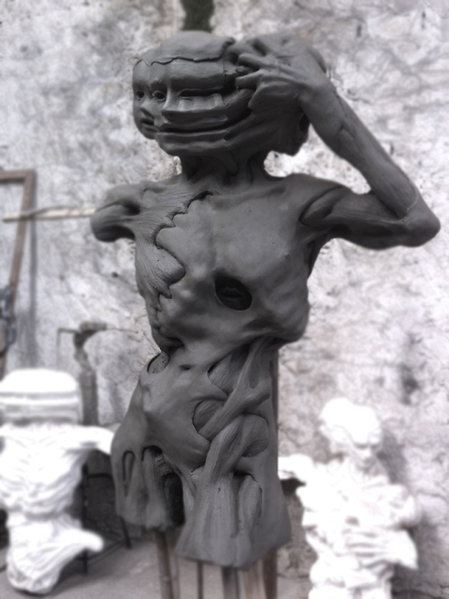 Enrico Ferrarini disturbed sculptures 3