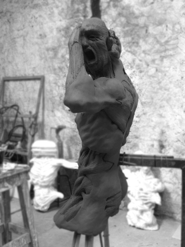 Enrico Ferrarini disturbed sculptures 7