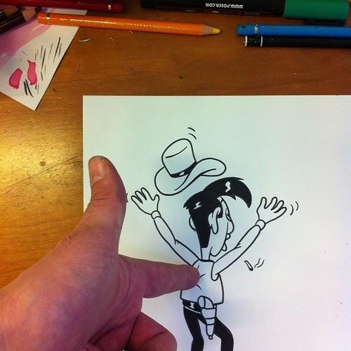 HuskMitNavn doodles illusions 3