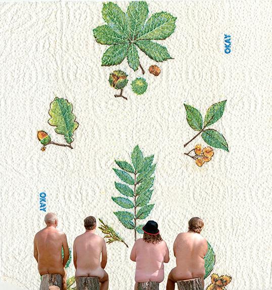 nunuche  collage paper towel 4