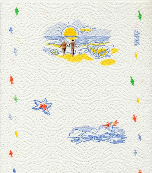 nunuche  collage paper towel 8