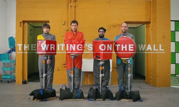 ok go the writings on the wall 2