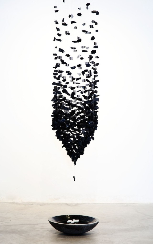 Seon Ghi Bahk Suspended Columns Mode of Charcoal 10