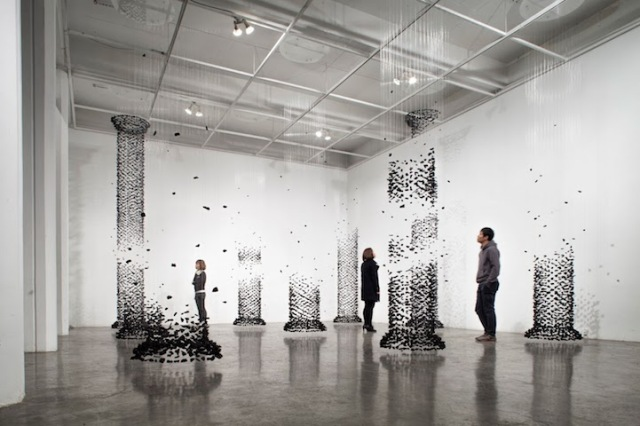 Seon Ghi Bahk Suspended Columns Mode of Charcoal 2