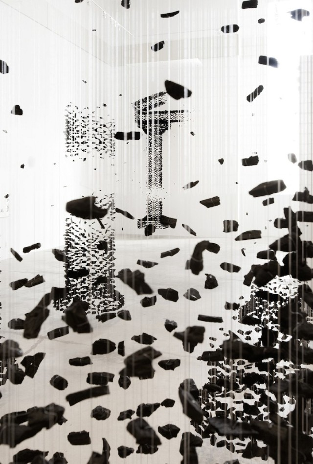 Seon Ghi Bahk Suspended Columns Mode of Charcoal 8