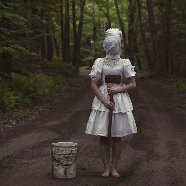 Christopher McKenney disturbing faceless photos 17
