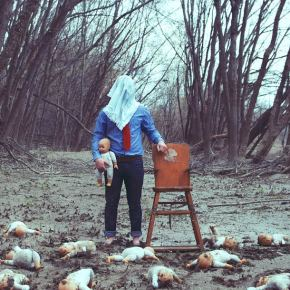 Christopher McKenney disturbing faceless photos 2