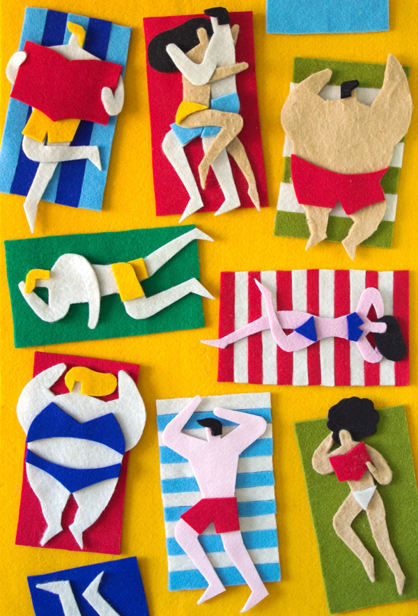 felt illustrations Jacopo Rosati 12
