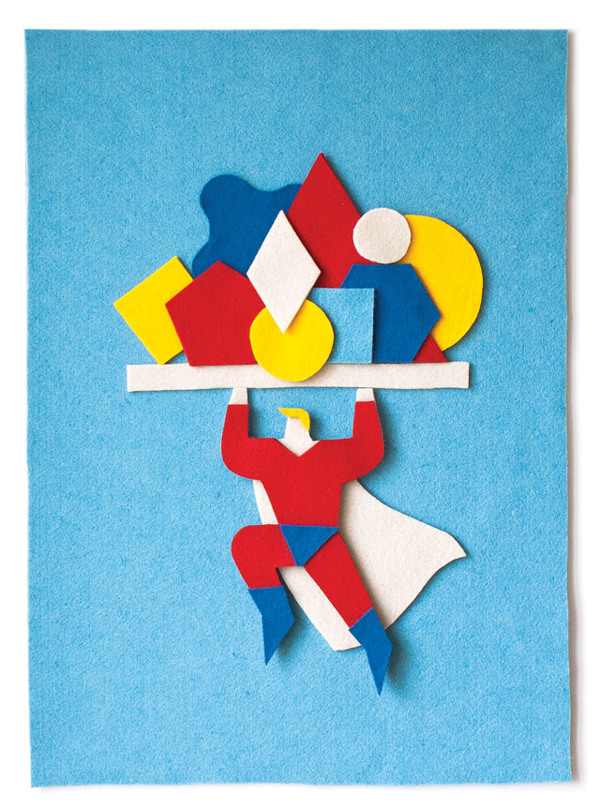 felt illustrations Jacopo Rosati 15