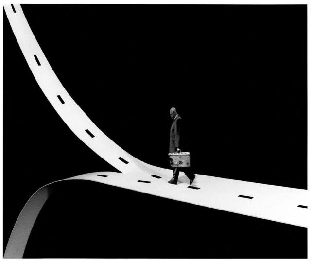 Gilbert Garcin surrealism in black and white 12