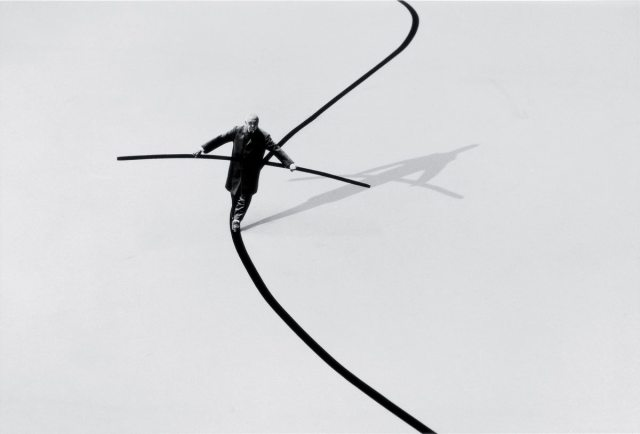 Gilbert Garcin surrealism in black and white 7