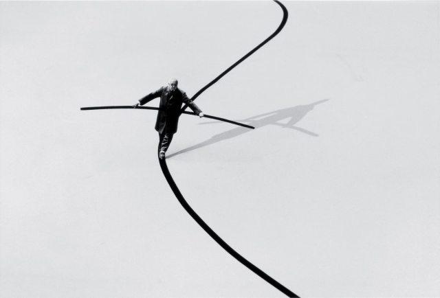 Gilbert Garcin surrealism in black and white 7